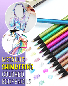 Metallic Shimmering Colored EcoPencils - Meao B