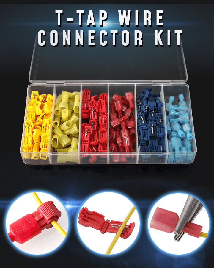 T-Tap Wire Connector Kit
