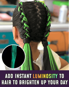 Clip-on Glow Hair Extensions