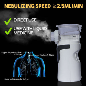 Cough Relief Ion Nebulizer