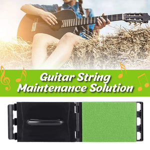 One-Swipe Guitar String Cleaner