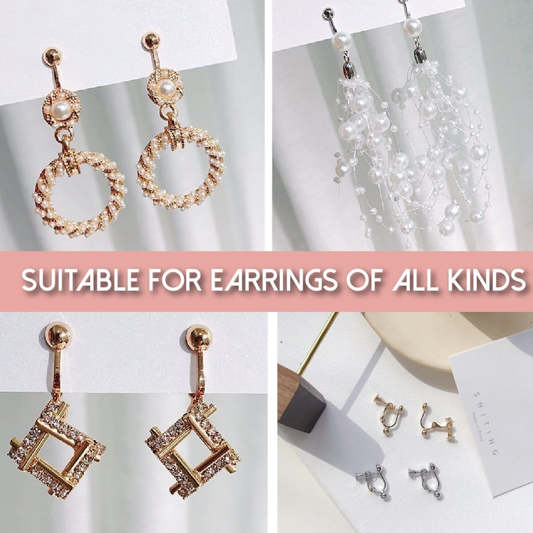Instant Clip-On Earrings Fastener