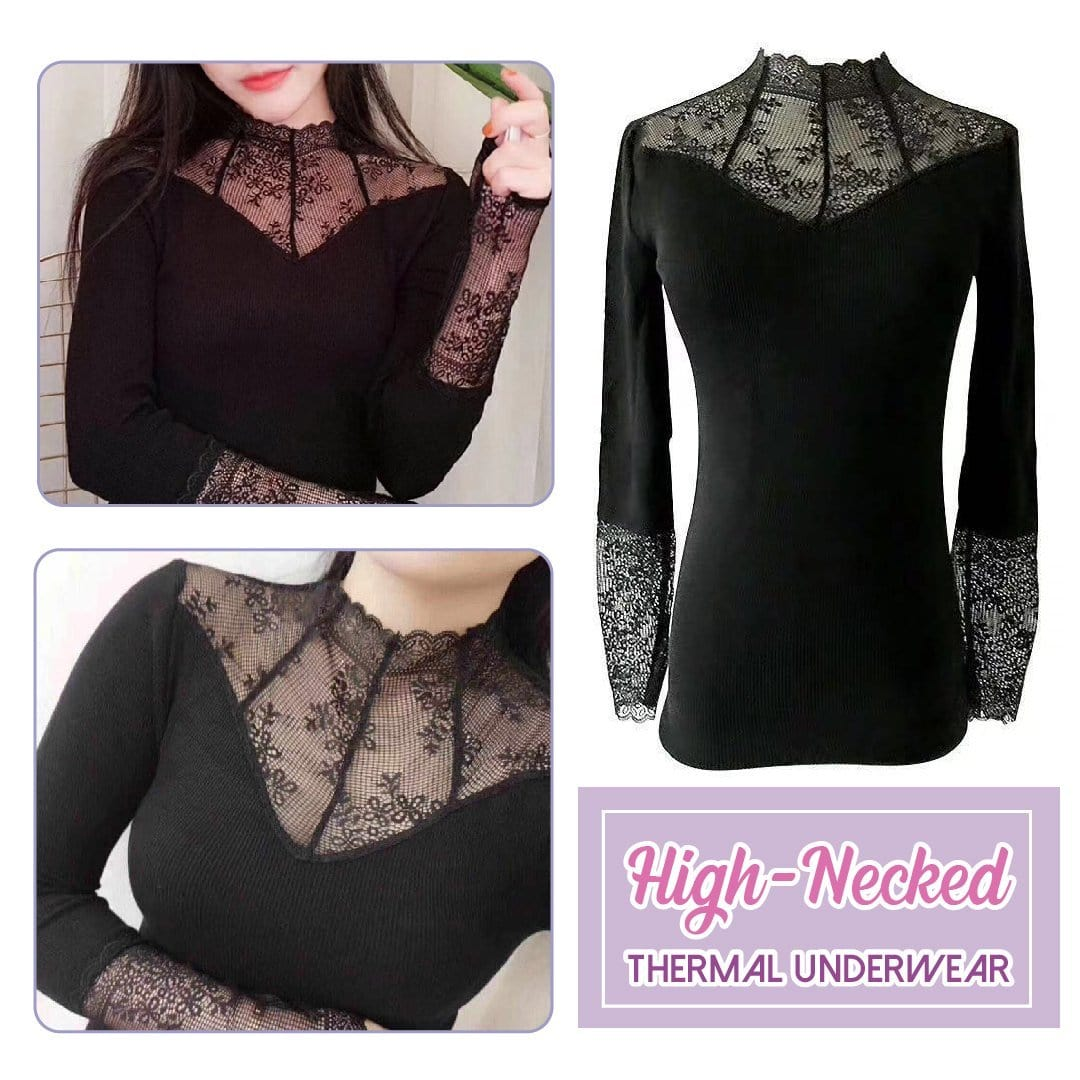 Lace Thermal Underwear