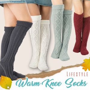 Knitted Knee High Comfy Socks