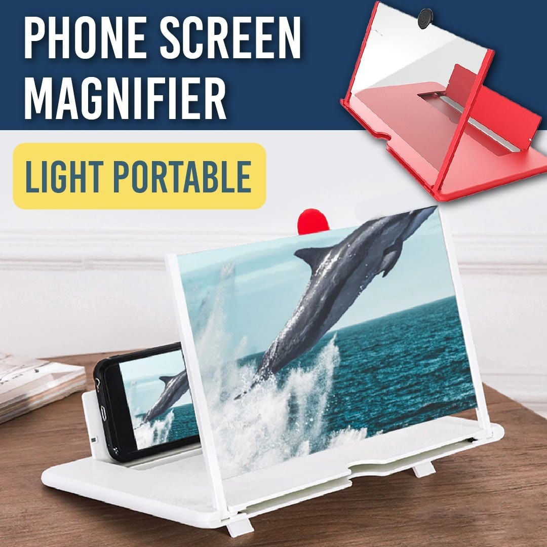 Light & Portable Phone Screen Magnifier