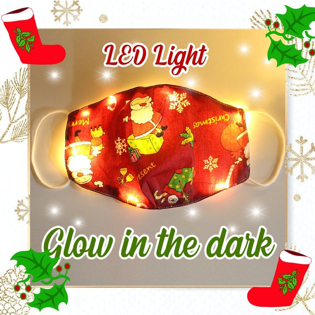 Funny LED Christmas Washable Cloth Cover