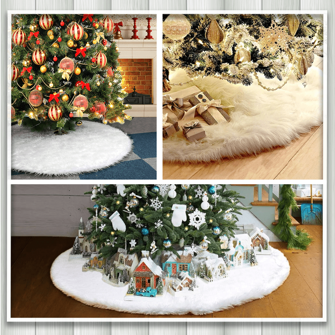 Luxury Christmas Tree Skirt