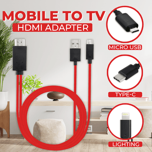 Mobile to TV HDMI Adapter