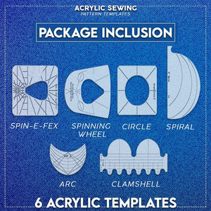 Acrylic Sewing Pattern Templates