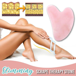 Rose Quartz Slimming Therapy Stone