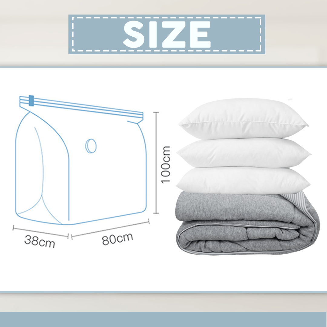 Suction-Free Vacuum Storage Bag