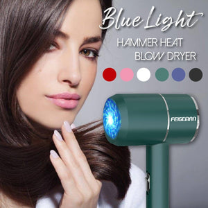 Blue Light Hammer Heat Blow Dryer
