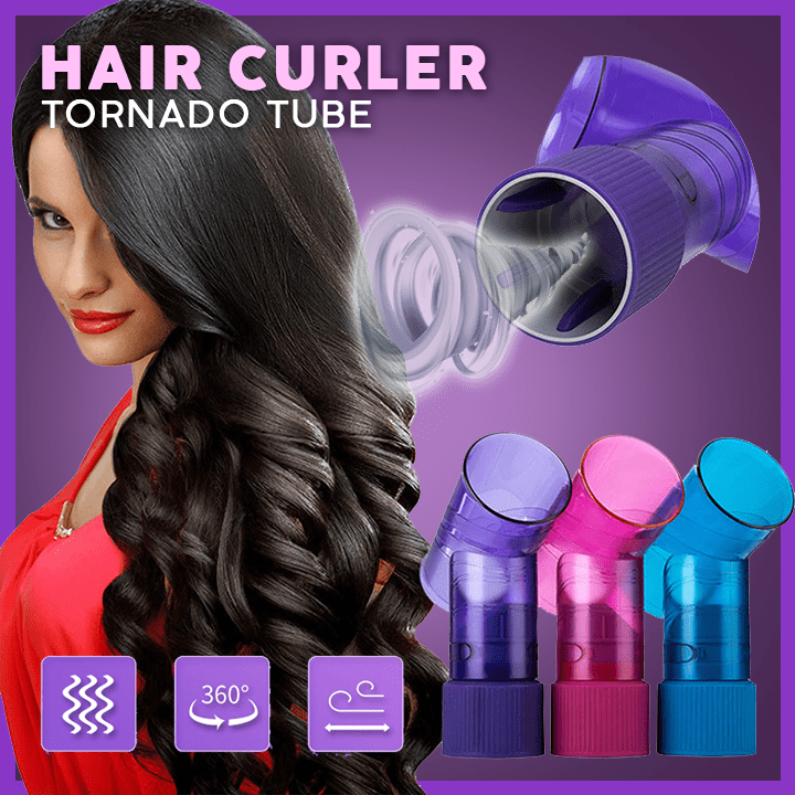 Tornado Magic Hair Curler