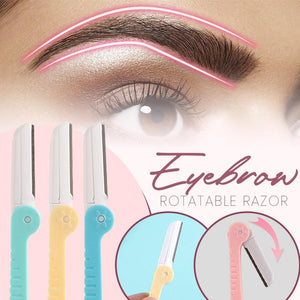 Eyebrow Rotatable Razors (3PCS)