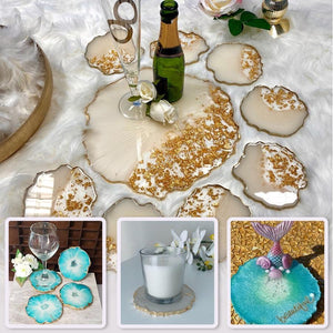 Crystal Resin Coaster D.I.Y. Set