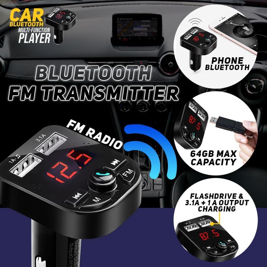 Car Bluetooth Multi-Function Player