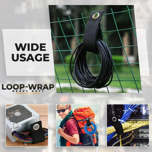 Loop-Wrap Heavy Duty Storage Straps (Set of 6)