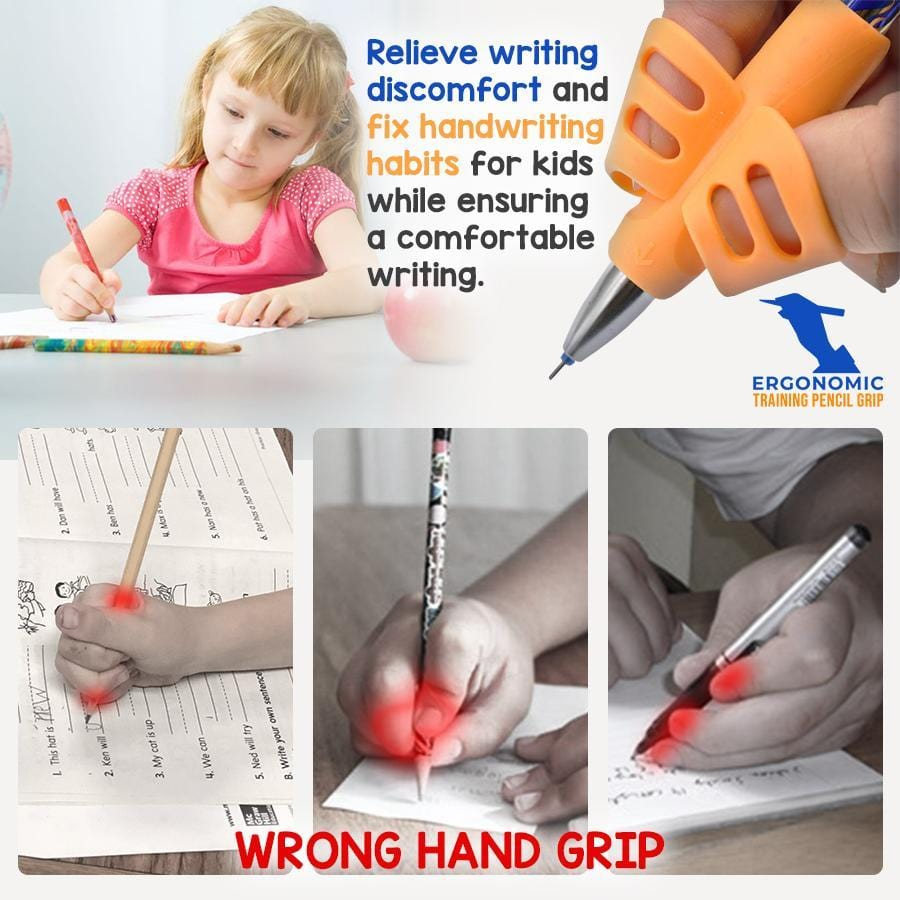 Ergonomic Training Pencil Grips (3 Packs)
