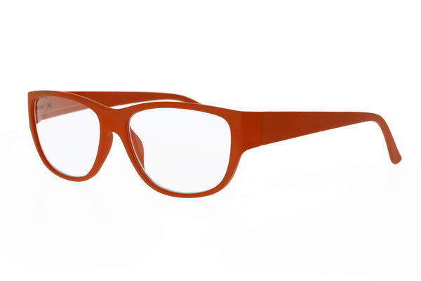 ANNIKA dark orange Reading Glasses