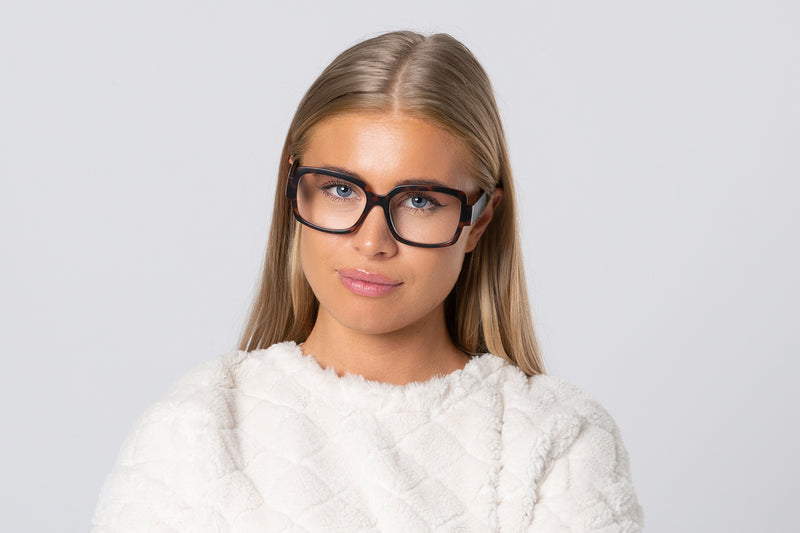 ADELE turtle brown Reading Glasses