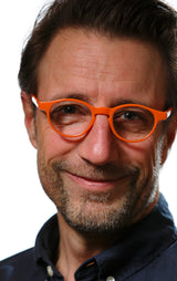 ANTON solid orange Reading Glasses