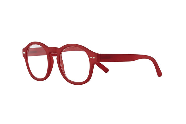 CEASAR d red rubber Reading Glasses