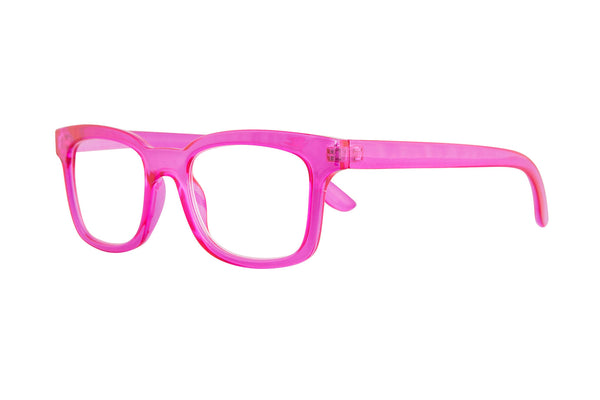 CORNELINA transp. Cerise Reading Glasses
