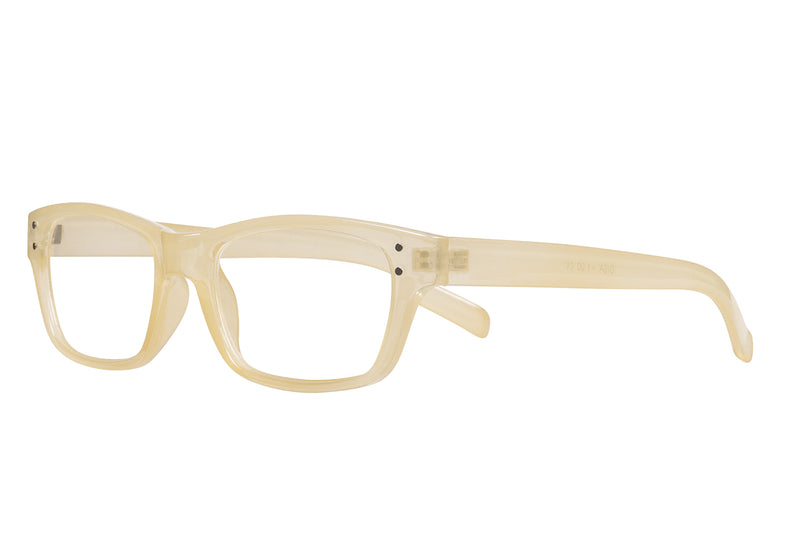 DISA foggy light yellow Reading Glasses
