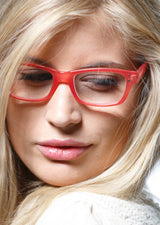 ERIKA foggy coral Reading Glasses