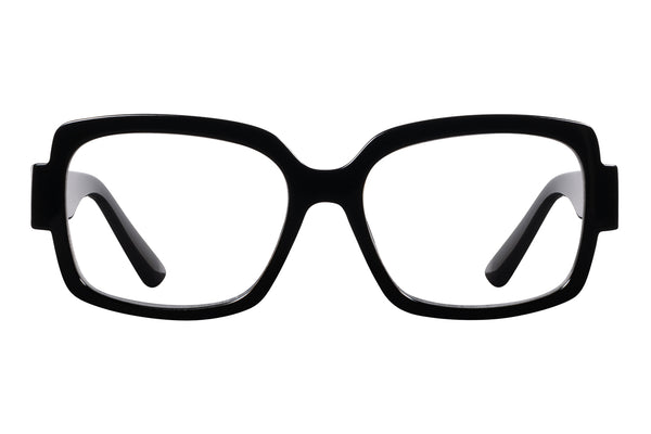 ESRA solid black Reading Glasses