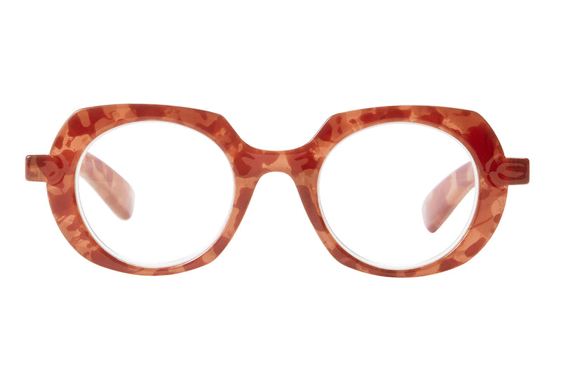 ESTELLE nude.coral Reading Glasses