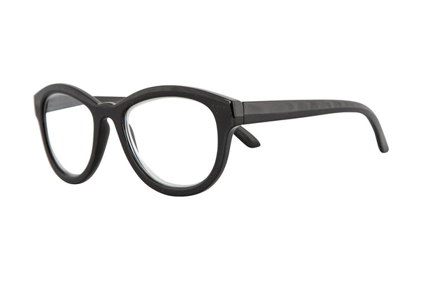 ELLA solid black Reading Glasses
