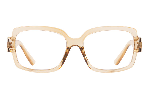 FIA transp creme Reading Glasses