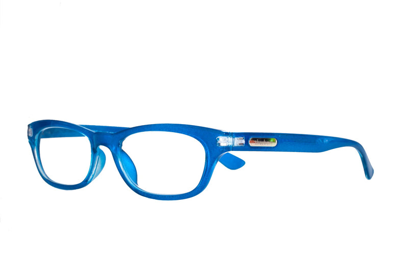 FREJA metallic blue Reading Glasses