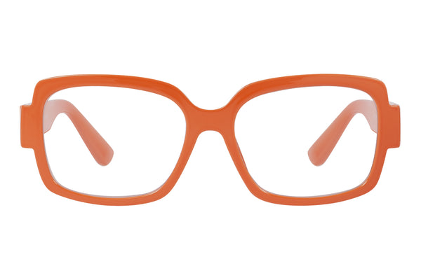 JOLIE solid d peach Reading Glasses