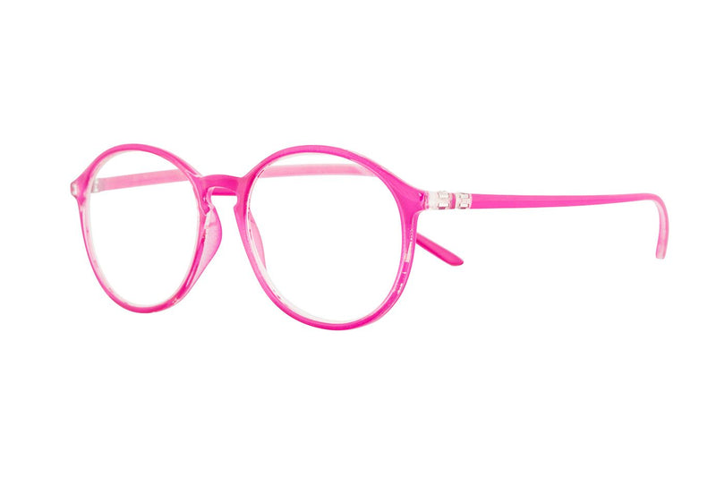 LILY Transp. Cerise Reading Glasses