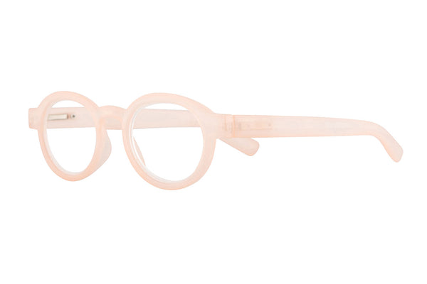 MELBA milky nude wood Reading Glasses