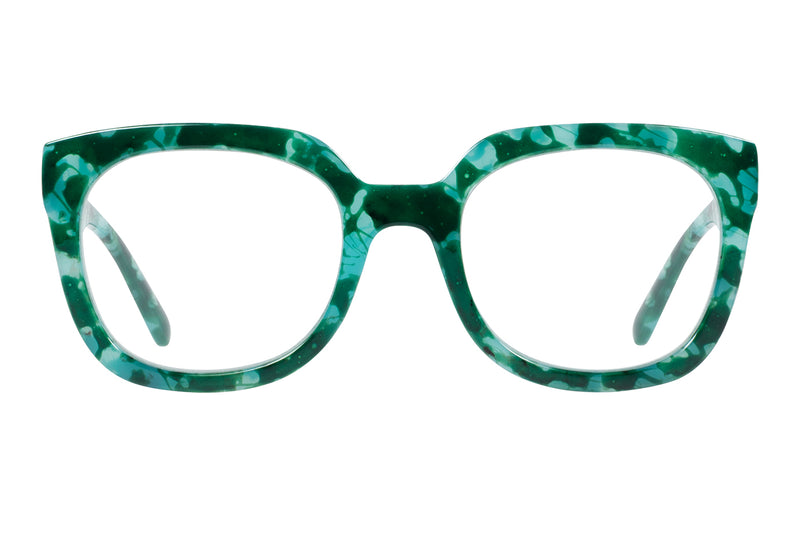 NOOR green turquise Reading Glasses