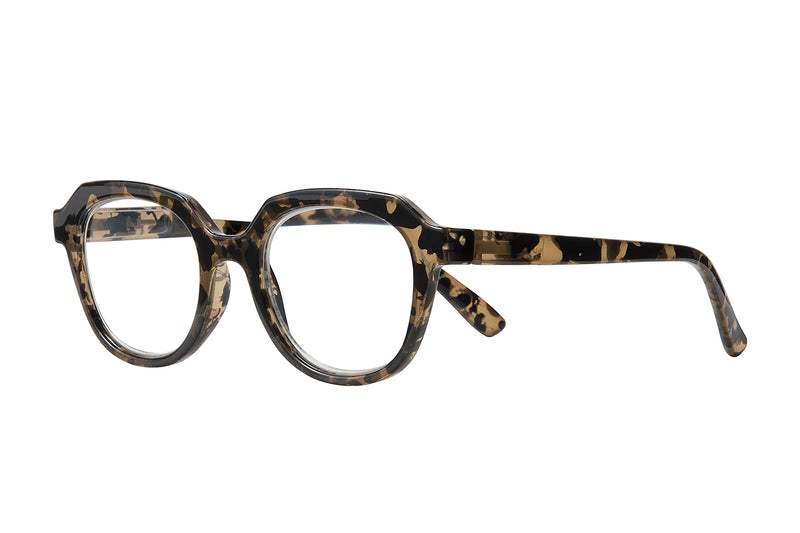 EMMA turtle brown Reading Glasses