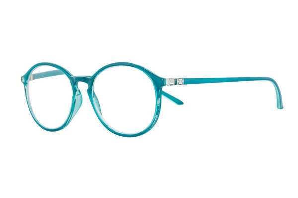 PAULINE Transp. Dark petrol Reading Glasses