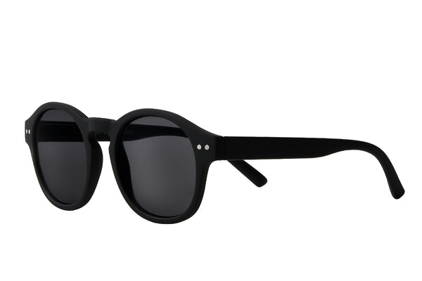 S-ZAC black rubber Sunglasses