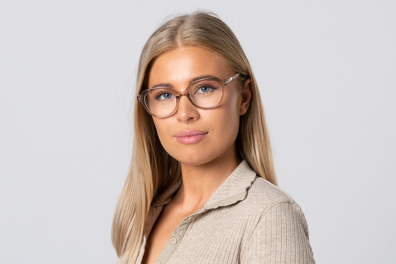 PERNILLA black solid Reading Glasses