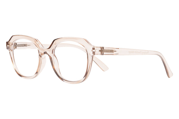 SALLY transp mole Reading Glasses