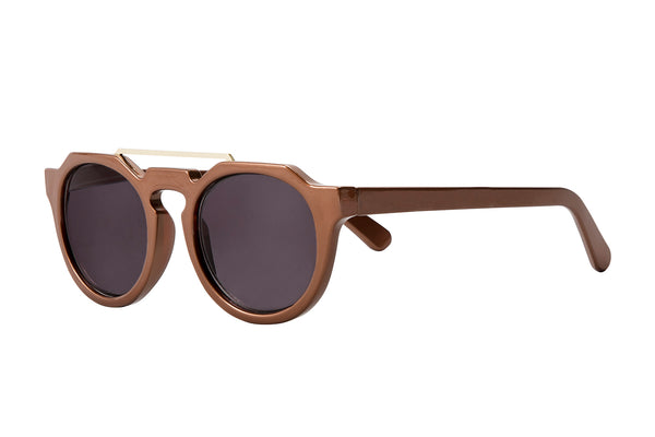 S-AVERY brown pearl Sunglasses