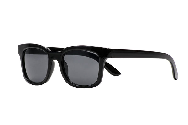 S-KAJSA solid black Sunglasses