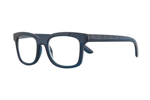 TOMINE transp. Dark blue Reading Glasses