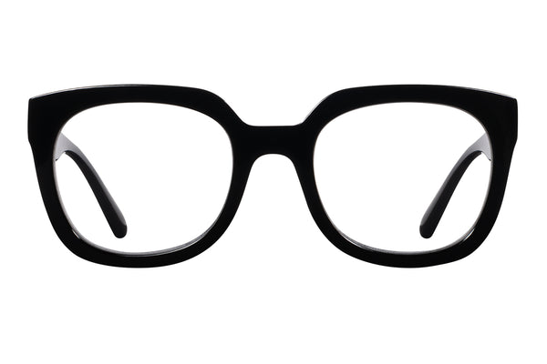 UNNI solid black Reading Glasses