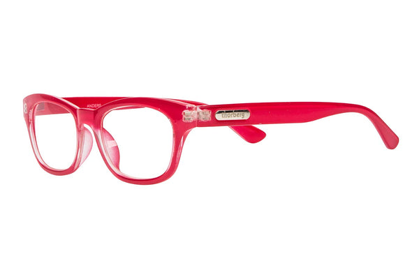 ANDERS red Reading Glasses
