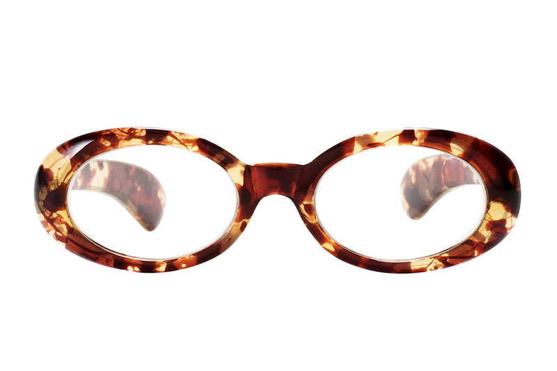 ATHENA turtle brown Reading Glasses