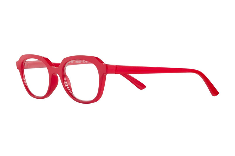 BIANKA red solid Reading Glasses